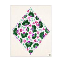 Purple Flower Diamond Alpha