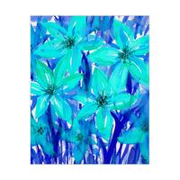 Blue Anemones Alpha