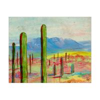 Organ Pipe Cactus Landscape Alpha