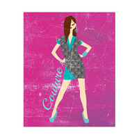 Cyan Dress Couture