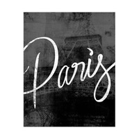 Urban Paris Typography