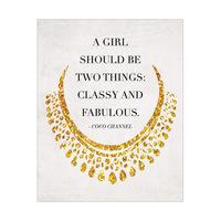 Classy Fabulous - Yellow
