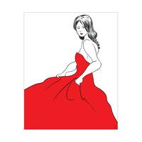 Crimson Elegance