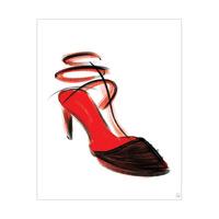Crimson Shoe In