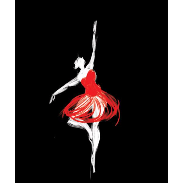 Crimson Ballerina
