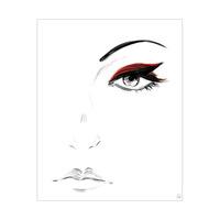 Crimson Eyeshadow