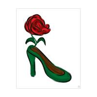 Rosy Crimson Heel