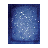 Constellation Chart Cobalt