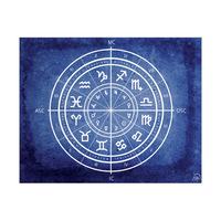 Zodiac Circlet Cobalt