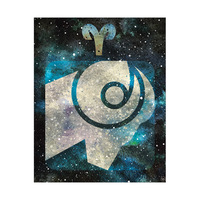 Aries Cerulean Nebula