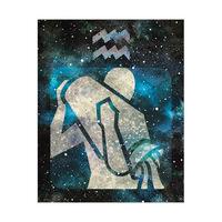 Aquarius Cerulean Nebula