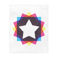 CYMK (Square) - Star