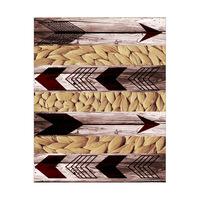 Arrows and Braid Tan - Stripes