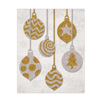 Hanging Ornaments Silver and Gold