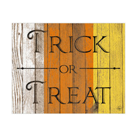 Wood Trick or Treat Alpha