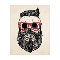Hipster is Dead - Red