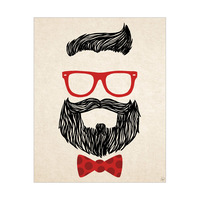 Red Hipster Accessories
