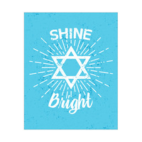 Shine Bright like a Star - Blue