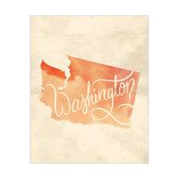 Vintage Map - Washington
