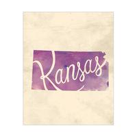 Vintage Map - Kansas