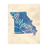 Vintage Map - Missouri