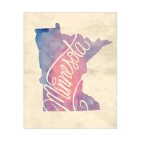 Vintage Map - Minnesota