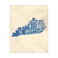Vintage Map - Kentucky