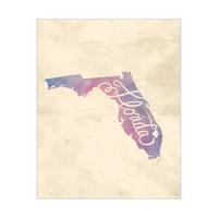 Vintage Map - Florida