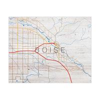 Boise City Roads Type - Wood