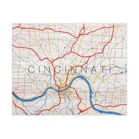 Cincinnati City Roads Type - Wood