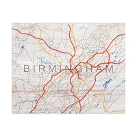 Birmingham City Roads Type - Wood