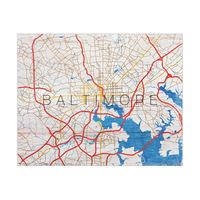 Baltimore City Roads - Wood Type