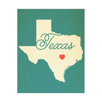 Texas Heart Aqua