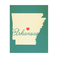 Arkansas Heart Aqua