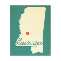Mississippi Heart Aqua