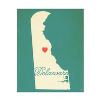 Delaware Heart Aqua