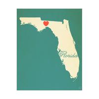 Florida Heart Aqua