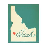 Idaho Heart Aqua