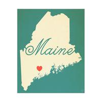 Maine Heart Aqua