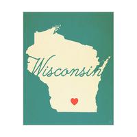 Wisconsin Heart Aqua