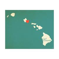 Hawaii Heart Aqua