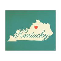 Kentucky Heart Aqua
