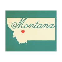Montana Heart Aqua