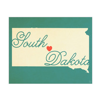 South Dakota Heart Aqua