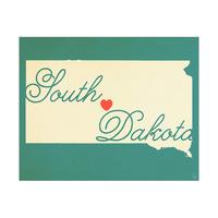 South Dakota Heart Aqua