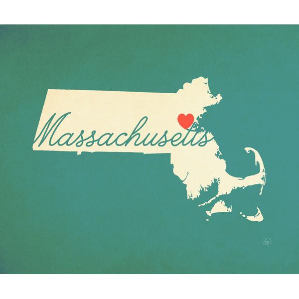 Massachusetts Heart Aqua