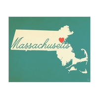Massachusetts Heart Aqua