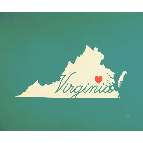 Virginia Heart Aqua