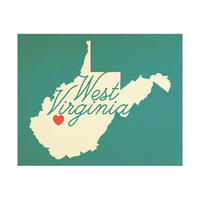 West Virginia Heart Aqua