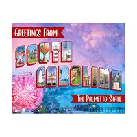 South Carolina Postcard